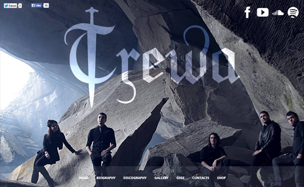 trewamusic - Speaker - One-Page Music Wordpress Theme