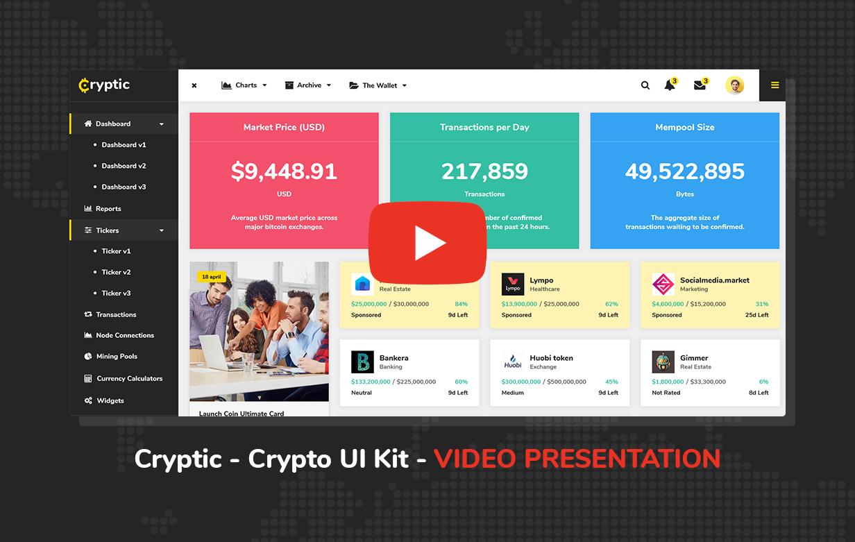 video - Cryptic - Crypto UI Kit