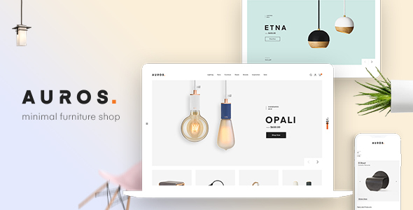 01 preview.  large preview - Auros - Furniture Elementor WooCommerce Theme