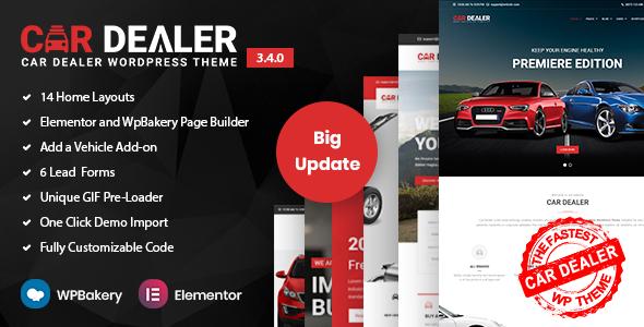 01 preview.  large preview - Car Dealer -  Automotive Responsive WordPress Theme