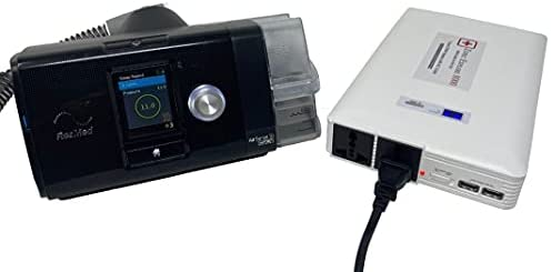 1633026675 31lmbAnGXKS. AC  - Zopec EXPLORE 8000 CPAP Battery Backup Power Supply (3-4 Nights). Automatic Switch in Power Outage. Uninterrupted Sleep! Works with All CPAP Brands. Sleep All Night with Humidifier!