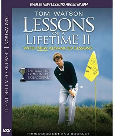 1633892992 51bAFI3zjSL. AC  376x445 - Tom Watson Lessons of a Lifetime II - Three Discs and Booklet (2014)