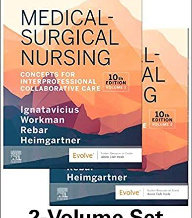 1633979809 51Gko89EpOL. SX393 BO1 393x445 - Medical-Surgical Nursing: Concepts for Interprofessional Collaborative Care, 2-Volume Set