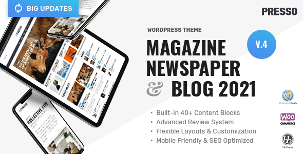 1634251884 294 01 preview.  large preview - PRESSO - Modern Magazine / Newspaper / Viral Theme