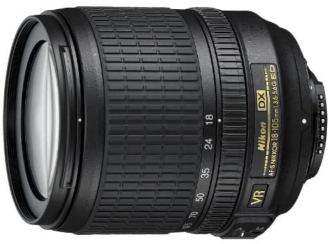 1634414005 51WZ57DmLGL. AC  - Nikon AF-S DX NIKKOR 18-105mm f/3.5-5.6G ED Vibration Reduction Zoom Lens with Auto Focus for Nikon DSLR Cameras - (New)