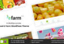 eFarm – A Multipurpose Food & Farm WordPress Theme