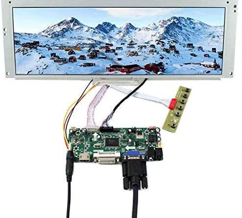 "1634806763 51DCrGLk pL. AC  494x445 - VSDISPLAY 14.9"" 14.9 in 1280X390 LCD Screen LTA149B780F with HD-MI DVI VGA Audio LCD Controller Board M.NT68676, fit for Arcade Machines DIY displays Car Monitor Digital Marquee Gauge Cluster"