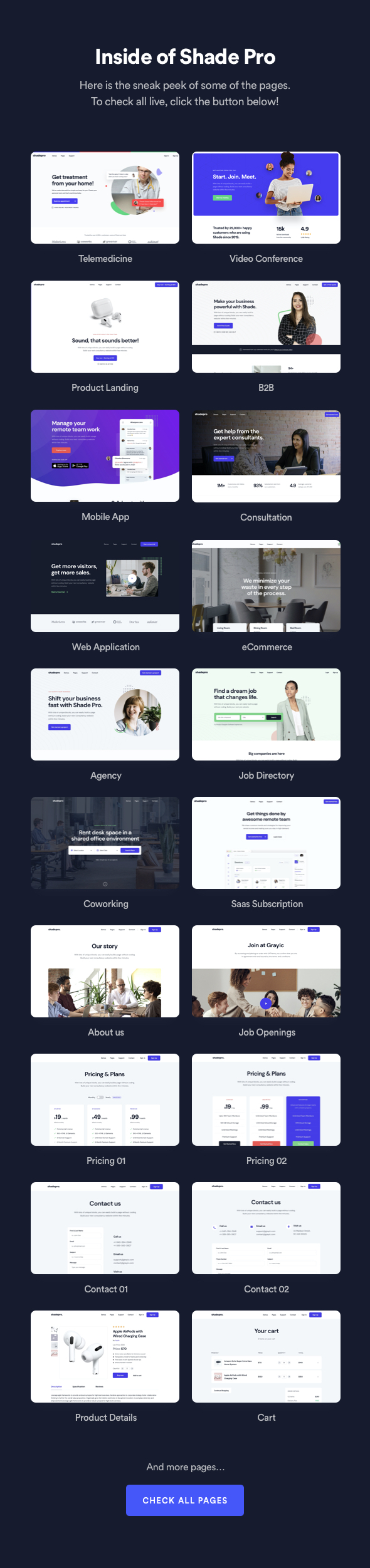 2 - ShadePro - App and Software Template