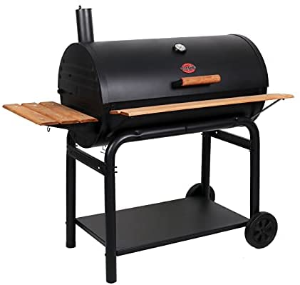 31I6bzVX7L. AC  - Char-Griller 2137 Outlaw Charcoal Grill, 950 Square Inch, Black