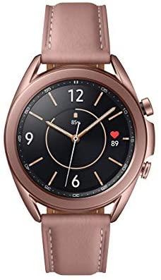 4105ET2aJBL. AC  - Samsung Galaxy Watch 3 (41mm, GPS, Bluetooth) Smart Watch Mystic Bronze (US Version, Renewed) (Renewed)