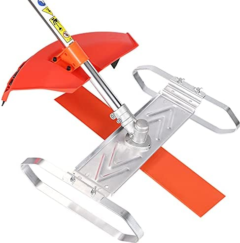 41IERNX3BXL. AC  - Flamingo PTS Brush Cutter Blade Stand Push Lawn Mower | Walk Behind Edger Push Reel Mower That Converts Your Grass Trimmer Weed Eater String Trimmers Into Push Type Lawn Grass Cutter
