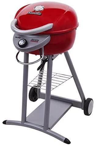 41RSchXTD7L. AC  - Char-Broil 20602109 Patio Bistro TRU-Infrared Electric Grill, Red