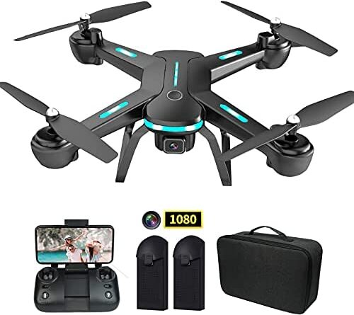 41bVGDAqSS. AC  500x445 - Zuhafa JY03 Drone with 1080P HD Camera for Kids and Adults WiFi FPV Transmission RC Quadcopter for Beginner 2 batteries 40 Minutes Flight Time, Altitude Hold, Headless Mode, 3D flips, APP Control