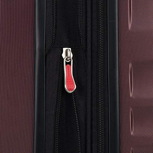 51FAVJJbl2L. AC  - Delsey Paris Alexis Lightweight Luggage, Medium Expandable Spinner Double Wheel Hardshell Suitcases with TSA Lock