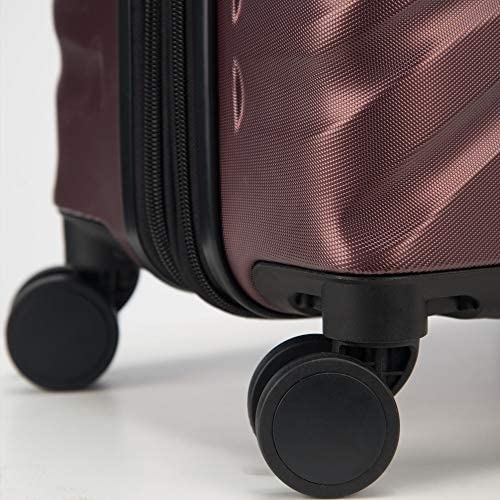 51GQf2O8ieL. AC  - Delsey Paris Alexis Lightweight Luggage, Medium Expandable Spinner Double Wheel Hardshell Suitcases with TSA Lock