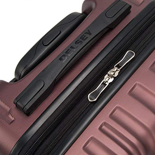 51Y1RC7rEkL. AC  - Delsey Paris Alexis Lightweight Luggage, Medium Expandable Spinner Double Wheel Hardshell Suitcases with TSA Lock