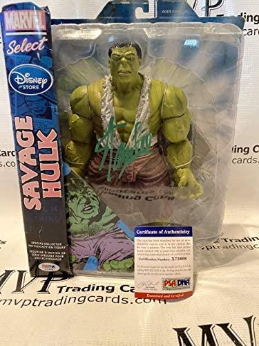 51YX0XfokkL. AC  - PSA/DNA Stan Lee Autograph Marvel Select Savage Hulk Action Figure