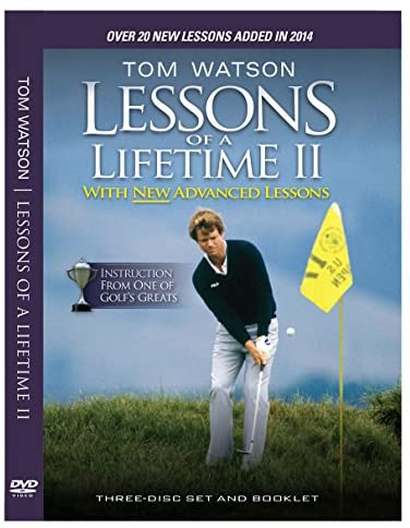 51bAFI3zjSL. AC  - Tom Watson Lessons of a Lifetime II - Three Discs and Booklet (2014)
