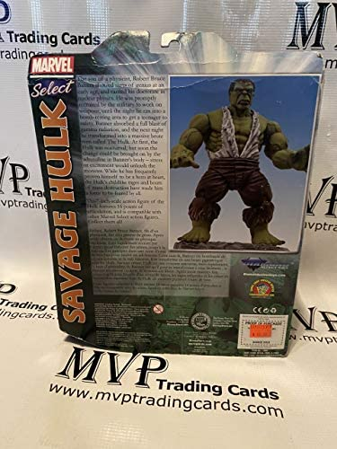 51qqZvrnH8L. AC  - PSA/DNA Stan Lee Autograph Marvel Select Savage Hulk Action Figure