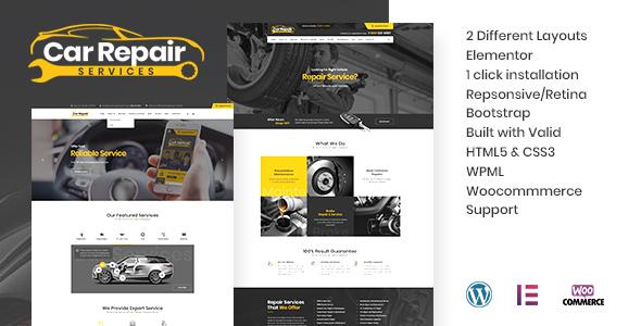 590 car repair WP v 3.  large preview - Car Repair Services & Auto Mechanic WordPress Theme + RTL