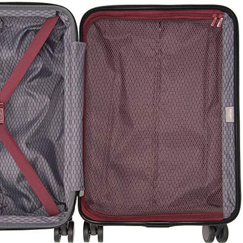 61PIrYptqxL. AC  - Delsey Paris Alexis Lightweight Luggage, Medium Expandable Spinner Double Wheel Hardshell Suitcases with TSA Lock