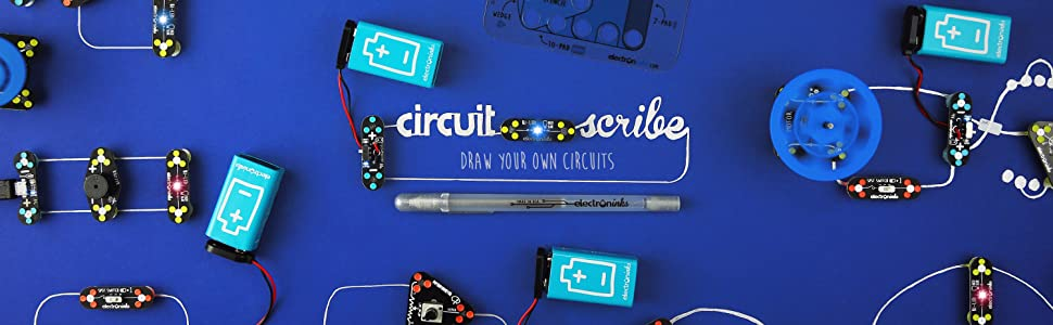 823c046f 3e2d 4530 a848 71d932d33610.  CR0,0,970,300 PT0 SX970 V1    - Circuit Scribe Drone Builder Kit for Kids   Build Your Own Drone with Camera   With Conductive Ink Pen, Motors, Propellers, Free iOS/Android Controller App, Battery-Operated Drone Hub
