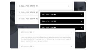 accordion styles - Brando Responsive and Multipurpose OnePage WordPress Theme
