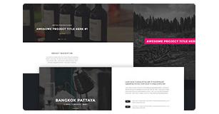 ajax portfolio popup - Brando Responsive and Multipurpose OnePage WordPress Theme