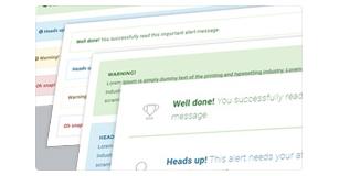 alert massage styles - Brando Responsive and Multipurpose OnePage WordPress Theme