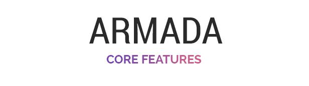 armada features - Armada — Multifunction Photography WordPress Theme