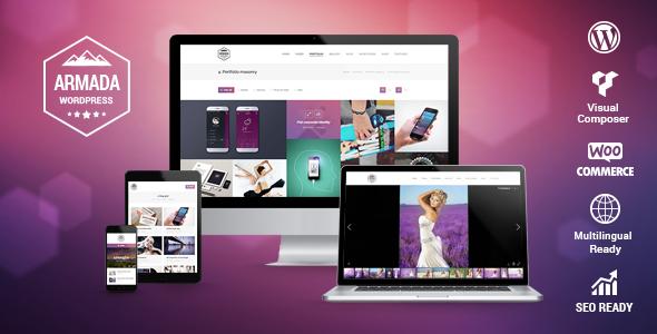 armada promo big.  large preview - Armada — Multifunction Photography WordPress Theme