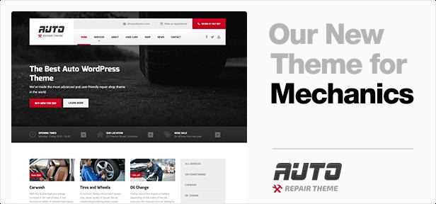 auto crosspromotion banner - CarPress - WordPress Theme For Mechanic Workshops