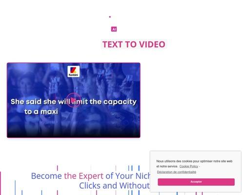blink2016 x400 thumb - ✍️ Klappz AI : 1st Text To Video App