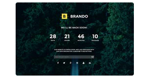 brando features img coming soon template - Brando Responsive and Multipurpose OnePage WordPress Theme