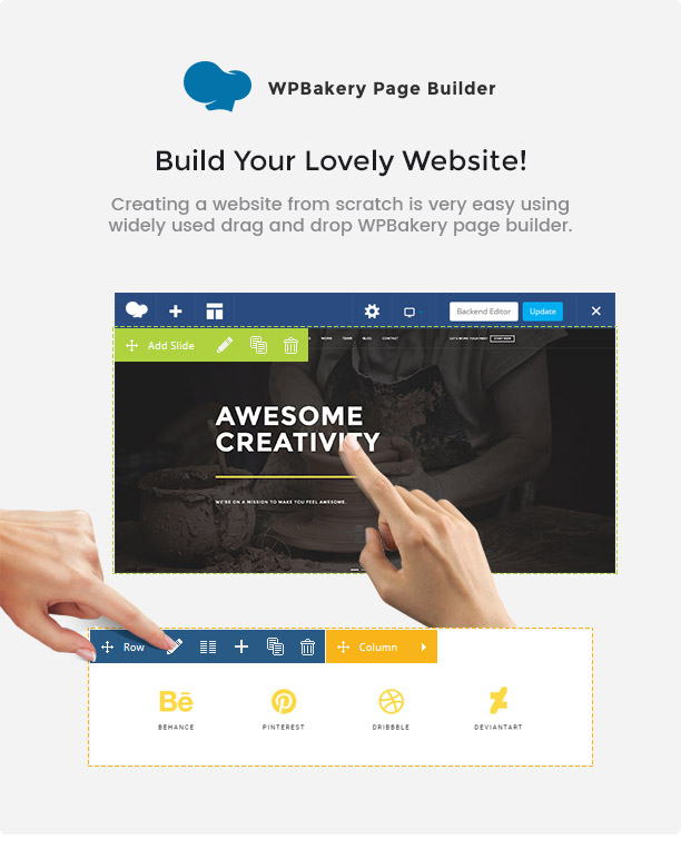 brando wp visual composer new 08 feb 2019 - Brando Responsive and Multipurpose OnePage WordPress Theme