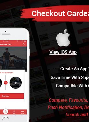 car dealer ios app - Car Dealer -  Automotive Responsive WordPress Theme