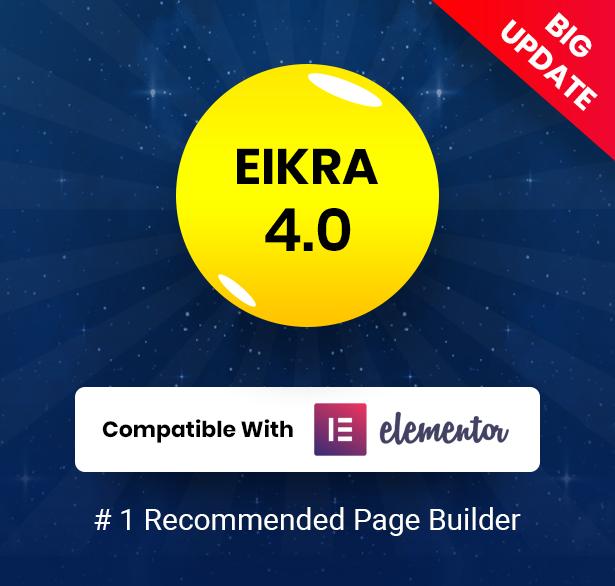 eikra big update - Eikra - Education WordPress Theme