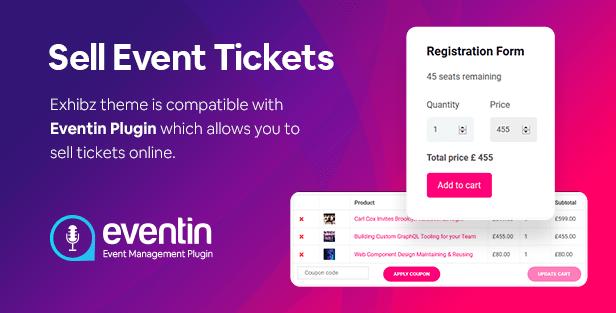 exhibz buy ticket1 - Exhibz | Event Conference WordPress Theme