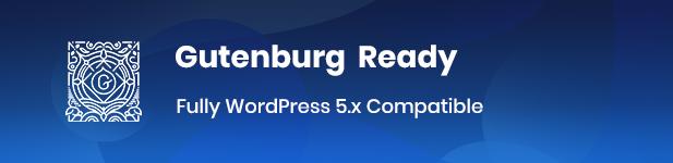 gutenburg - Reobiz - Consulting Business WordPress Theme