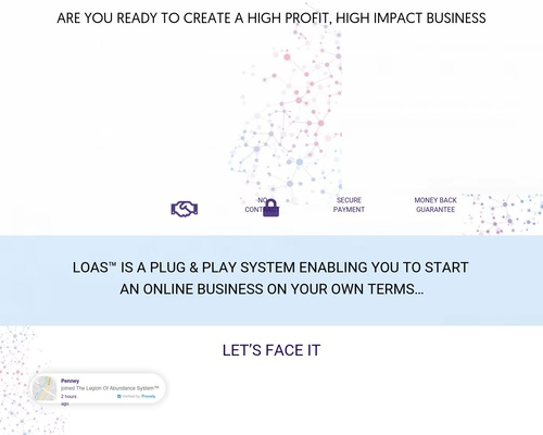 loasworld x400 thumb - Are You Ready To Create A High Profit High Impact Business Online?