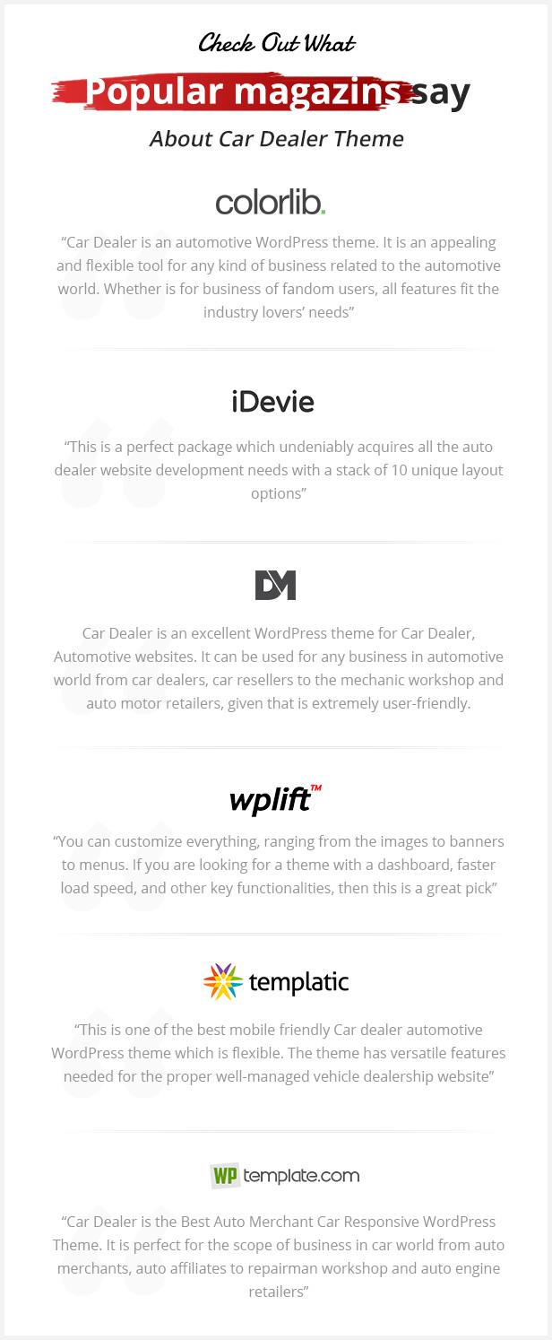magazins - Car Dealer -  Automotive Responsive WordPress Theme