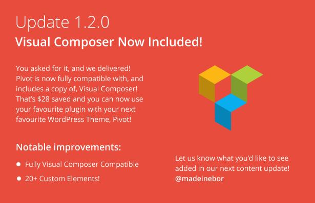 pivot 2 - Pivot   Responsive Multipurpose WordPress Theme