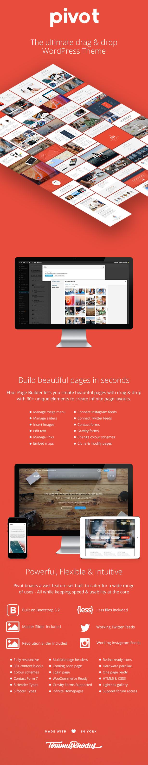 pivot 4 - Pivot   Responsive Multipurpose WordPress Theme