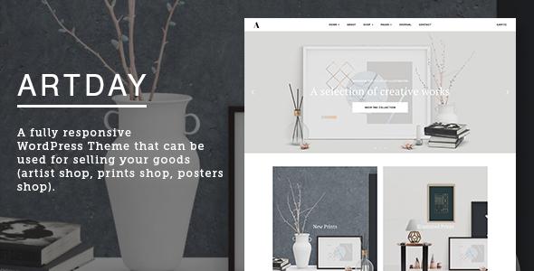 preview.  large preview.  large preview.  large preview - Artday - Creative Artist WordPress Shop