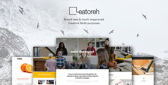 preview1.  large preview - Eatoreh - Responsive and Fresh Joomla Template