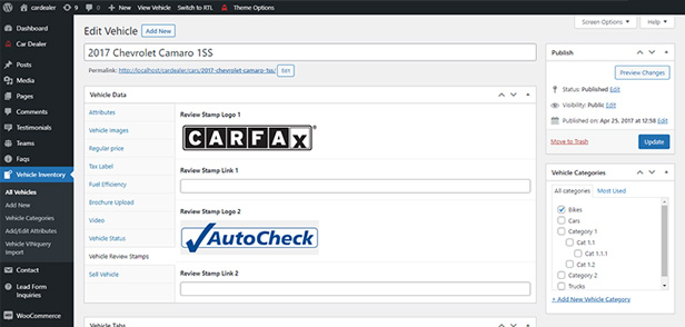 reason 2 - Car Dealer -  Automotive Responsive WordPress Theme