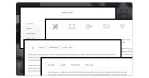 tab styles - Brando Responsive and Multipurpose OnePage WordPress Theme