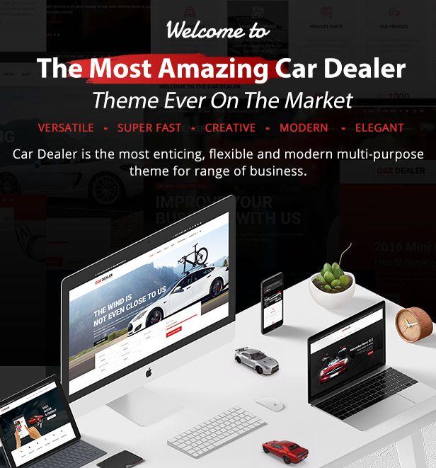 welcome - Car Dealer -  Automotive Responsive WordPress Theme