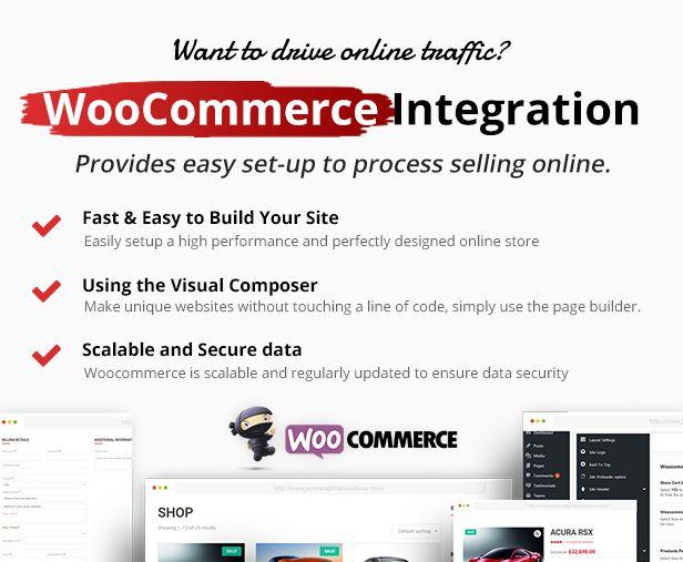 woocommerce - Car Dealer -  Automotive Responsive WordPress Theme